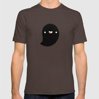 Space Ghost Mens Fitted Tee Brown SMALL