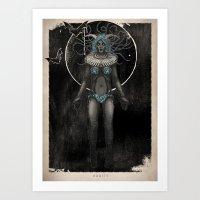 WoodlandWictch Art Print