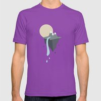 Mountain Mens Fitted Tee Ultraviolet SMALL