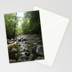 Stream scene Stationery Cards