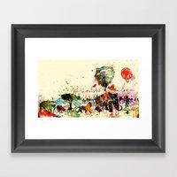 World As One : Human Kin… Framed Art Print