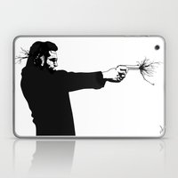 Kittapa Series - White Laptop & iPad Skin