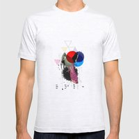 Bird Colours Mens Fitted Tee Ash Grey SMALL