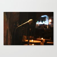 The World Is Your Stage Canvas Print