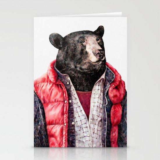Black Bear Stationery Card