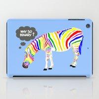 Rainbow Zebra iPad Case