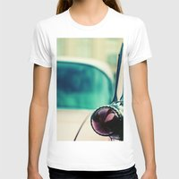 Light Womens Fitted Tee White SMALL
