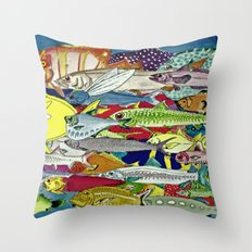School Is Cool Throw Pillow