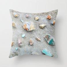 Swedish Stone Wall Throw Pillow