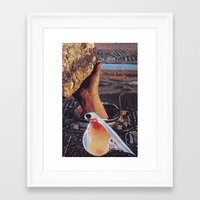 Collage #31 Framed Art Print