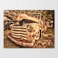 Old Pickup ( Photo By An… Canvas Print