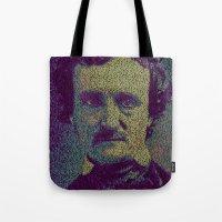 Edgar Allan Poe. Tote Bag