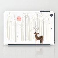 Reindeer Of The Silver W… iPad Case