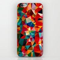 Polygon Pattern iPhone & iPod Skin