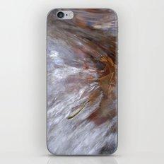 Burning leaf iPhone & iPod Skin