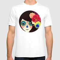 La Muertita ~ Candy Flav… Mens Fitted Tee White SMALL