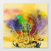 Brahma dream Canvas Print