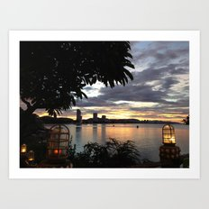 Huahin Thailand Art Print