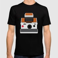 Polaroid SX-70 Land Came… Mens Fitted Tee Black SMALL