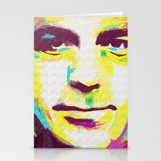george clooney Stationery Card