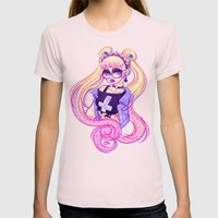 Pastel Goth Usagi (Glass… Womens Fitted Tee Light Pink SMALL
