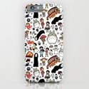 Kawaii Ghibli Doodle iPhone & iPod Case