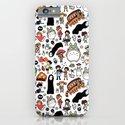 Kawaii Ghibli Doodle iPhone & iPod Case