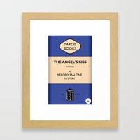 The Angel's Kiss Framed Art Print