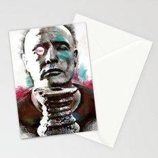 Marlon Brando under brushes effects Stationery Cards