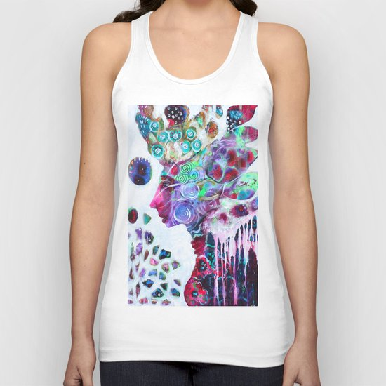 Nature S Diamonds Most Wise Unisex Tank Top By Tanya Cole
