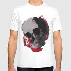 Off with my head  SMALL Mens Fitted Tee White