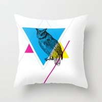 HYPSTER OWL Throw Pillow