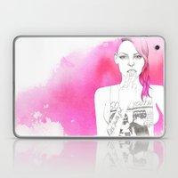 Little Trouble Girl Laptop & iPad Skin