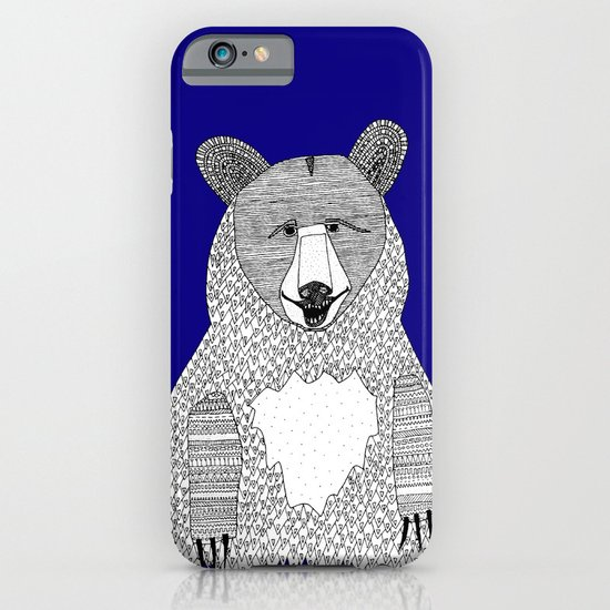 Blue Bear iPhone & iPod Case