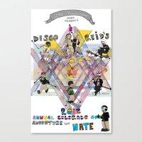 Disco & Reid's 2013 Annu… Canvas Print