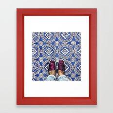 Art Beneath Our Feet - A… Framed Art Print