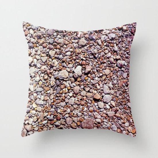 rocky Throw Pillow