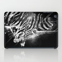 Zebra Mood - White iPad Case