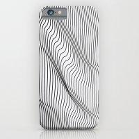 Minimal Curves iPhone 6 Slim Case