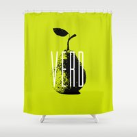 Verd Shower Curtain