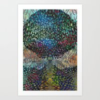Tree Of Life 2 - The Sac… Art Print