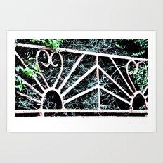 Railing Art Print