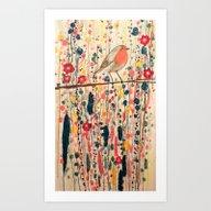 Art Print featuring Je Ne Suis Pas Qu'un Ois… by Sylvie Demers