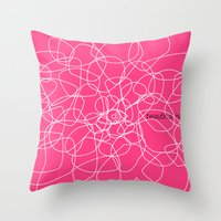 see beauty Throw Pillow