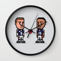 8-Bit: Bromance Wall Clock