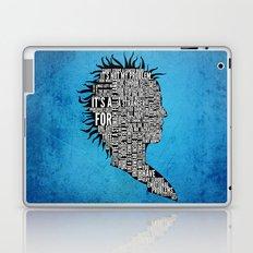 Typography Marla Singer Laptop & iPad Skin
