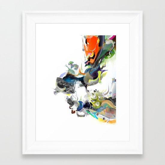 Sunburn Framed Art Print