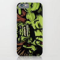 iPhone & iPod Case featuring Hulkenstein SMASH! by illustrationsbynina