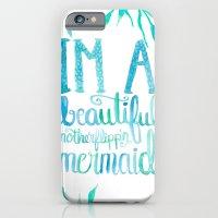 Motherflipp'n Mermaid iPhone 6 Slim Case