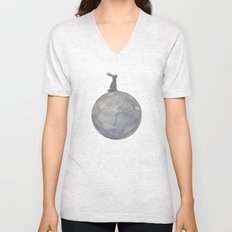 Is there anybody out there? VACANCY zine Unisex V-Neck